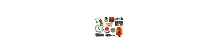 Elektryka - Podzespoły i części do instalacji elektrycznej zabudowy myjki lub śmieciarkomyjki do pojemników na śmieci.