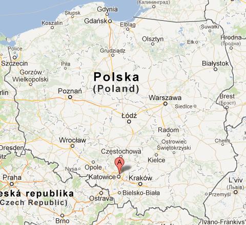 Komunal Truck mapa dojazdu Siemianowice Krupanka 83