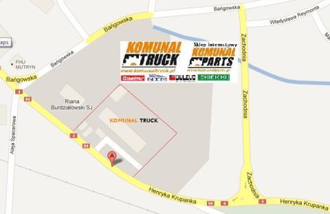 Komunal Truck siedziba Siemianowice Krupanka 83