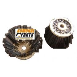 40585-1 Szczotka boczna talerzowa 500 mm drut Johnston